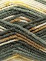 Fiber Content 75% Premium Acrylic, 25% Wool, Yellow, White, Brand Ice Yarns, Grey Shades, Camel, fnt2-67248