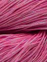 Please note that this is a hand-dyed yarn. Colors in different lots may vary because of the charateristics of the yarn. Also see the package photos for the colorway in full; as skein photos may not show all colors. Contenido de fibra 60% Metálicos Lurex, 40% Algodón, Brand Ice Yarns, Fuchsia, fnt2-67300