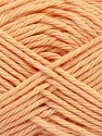 Fiber Content 100% Cotton, Light Salmon, Brand Ice Yarns, Yarn Thickness 4 Medium  Worsted, Afghan, Aran, fnt2-67335
