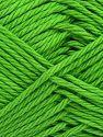 Fiber Content 100% Cotton, Brand Ice Yarns, Green, Yarn Thickness 4 Medium  Worsted, Afghan, Aran, fnt2-67340