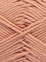 Fiber Content 100% Cotton, Light Pink, Brand Ice Yarns, Yarn Thickness 4 Medium  Worsted, Afghan, Aran, fnt2-67342