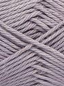 Fiber Content 100% Cotton, Light Lilac, Brand Ice Yarns, Yarn Thickness 4 Medium  Worsted, Afghan, Aran, fnt2-67345