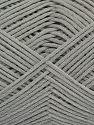 Fiber Content 67% Cotton, 33% Polyamide, Light Grey, Brand Ice Yarns, Yarn Thickness 2 Fine  Sport, Baby, fnt2-67360