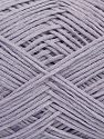 Fiber Content 67% Cotton, 33% Polyamide, Lilac, Brand Ice Yarns, fnt2-67368