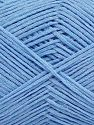 Fiber Content 67% Cotton, 33% Polyamide, Light Blue, Brand Ice Yarns, fnt2-67369