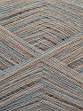 Fiber Content 85% Viscose, 15% Cashmere, Light Blue, Brand Ice Yarns, Beige, fnt2-67389