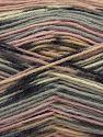 Fiber Content 75% Superwash Wool, 25% Polyamide, Pink, Brand Ice Yarns, Grey Shades, Beige, Yarn Thickness 1 SuperFine  Sock, Fingering, Baby, fnt2-67403