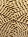 Fiber Content 50% Cotton, 50% Acrylic, Light Beige, Brand Ice Yarns, fnt2-67464
