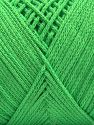 Please be advised that yarn iade made of recycled cotton, and dye lot differences occur. Fiber Content 100% Cotton, Light Green, Brand Ice Yarns, fnt2-67534