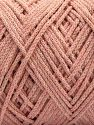 Please be advised that yarn iade made of recycled cotton, and dye lot differences occur. Fiber Content 100% Cotton, Powder Pink, Brand Ice Yarns, fnt2-67538