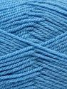 Worsted  Fiber Content 100% Acrylic, Light Blue, Brand Ice Yarns, fnt2-67798