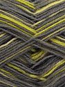 Fiber Content 75% Superwash Wool, 25% Polyamide, Brand Ice Yarns, Grey, Green Shades, Black, fnt2-67808