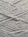 Fiber Content 88% Cotton, 12% Metallic Lurex, Off White, Brand Ice Yarns, fnt2-67828