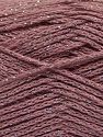 Fiber Content 88% Cotton, 12% Metallic Lurex, Light Orchid, Brand Ice Yarns, fnt2-67834