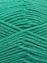 Fiber Content 88% Cotton, 12% Metallic Lurex, Mint Green, Brand Ice Yarns, fnt2-67842