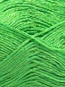 Fiber Content 67% Cotton, 33% Viscose, Neon Green, Brand Ice Yarns, fnt2-67853