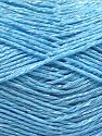 Fiber Content 67% Cotton, 33% Viscose, Light Blue, Brand Ice Yarns, fnt2-67866