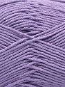 Contenido de fibra 100% Algodón, Light Lilac, Brand Ice Yarns, Yarn Thickness 2 Fine  Sport, Baby, fnt2-67884