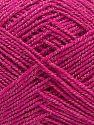 Fiber Content 70% Acrylic, 30% Cotton, Brand Ice Yarns, Fuchsia, fnt2-67905