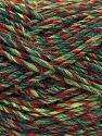 Fiber Content 9% Viscose, 62% Acrylic, 19% Alpaca, 10% Wool, Brand Ice Yarns, Green Shades, Copper, fnt2-67993