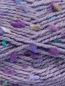 Fiber Content 68% Premium Acrylic, 19% Polyamide, 13% Polyester, Turquoise, Lilac Shades, Brand Ice Yarns, Beige, fnt2-68021