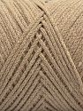 Please be advised that yarn iade made of recycled cotton, and dye lot differences occur. Περιεχόμενο ίνας 100% Βαμβάκι, Brand Ice Yarns, Beige, fnt2-68186