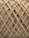 Please be advised that yarn iade made of recycled cotton, and dye lot differences occur. Fiber Content 100% Cotton, Brand Ice Yarns, Beige, fnt2-68188