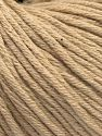 Fiber Content 50% Acrylic, 50% Cotton, Brand Ice Yarns, Beige, fnt2-68191