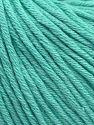 Fiberinnehåll 50% Akryl, 50% Bomull, Mint Green, Brand Ice Yarns, fnt2-68197
