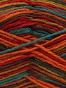 Fiber Content 75% Superwash Wool, 25% Polyamide, Rainbow, Brand Ice Yarns, fnt2-68203