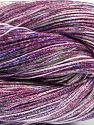 Please note that this is a spray-painted yarn. Colors in different lots may vary because of the charateristics of the yarn. Also see the package photos for the colorway in full; as skein photos may not show all colors. Fiber Content 60% Metallic Lurex, 40% Cotton, Purple Shades, Brand Ice Yarns, fnt2-68234