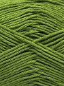 Fiber Content 100% Cotton, Pistachio Green, Brand Ice Yarns, Yarn Thickness 2 Fine  Sport, Baby, fnt2-68245