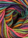 Fiber Content 55% Cotton, 45% Acrylic, Yellow, Turquoise, Purple, Pink, Brand Ice Yarns, Green, Yarn Thickness 3 Light  DK, Light, Worsted, fnt2-68248