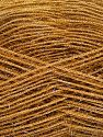 Fiber Content 60% Polyester, 40% Metallic Lurex, Brand Ice Yarns, Caramel, Yarn Thickness 3 Light  DK, Light, Worsted, fnt2-68252