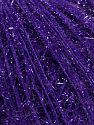 Fiber Content 60% Polyamide, 40% Metallic Lurex, Purple, Brand Ice Yarns, fnt2-68312