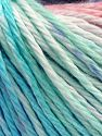 Fiber Content 100% Cotton, Turquoise, Mint Light Green Salmon, Lilac, Brand Ice Yarns, Blue, fnt2-68412