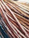 Fiber Content 100% Cotton, White, Oil Blue, Brand Ice Yarns, Brown Shades, fnt2-68419