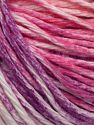 Fiber Content 100% Cotton, White, Pink Shades, Lilac Shades, Brand Ice Yarns, fnt2-68421