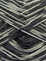 İçerik 75% Superwash Wool, 25% Polyamid, Brand Ice Yarns, Grey Shades, fnt2-68425