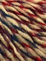 Fiber Content 60% Acrylic, 40% Wool, Teal, Red, Milky Brown, Maroon, Brand Ice Yarns, fnt2-68450