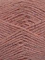 Fiber Content 88% Cotton, 12% Metallic Lurex, Powder Pink, Brand Ice Yarns, fnt2-68492