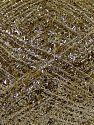 Fiber Content 50% Metallic Lurex, 50% Polyester, Brand Ice Yarns, Gold, fnt2-68609