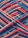 Fiber Content 100% Acrylic, White, Salmon Shades, Brand Ice Yarns, Blue Shades, fnt2-68632