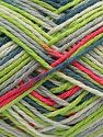 Fiber Content 100% Acrylic, White, Neon Pink, Neon Green, Jeans Blue, Brand Ice Yarns, Grey, fnt2-68634