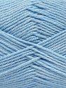 Fiber Content 60% Bamboo, 40% Polyamide, Brand Ice Yarns, Baby Blue, fnt2-68647