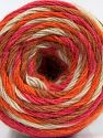 Fiber Content 50% Acrylic, 32% Wool, 18% Angora, White, Pink, Orange, Brand Ice Yarns, Camel, fnt2-68846