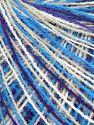 Fiber Content 100% Acrylic, White, Purple, Brand Ice Yarns, Blue, fnt2-68857