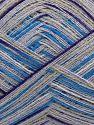 İçerik 60% Viskon, 30% Akrilik, 10% Kaşmir, White, Purple, Lilac, Brand Ice Yarns, Grey, Blue, fnt2-69326