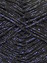 Width is 2-3 mm Fiber Content 100% Polyester, Silver, Brand Ice Yarns, Black, fnt2-69406