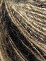 Fiber Content 50% Wool, 30% Acrylic, 20% Alpaca, Brand Ice Yarns, Camel Shades, Black, fnt2-69485